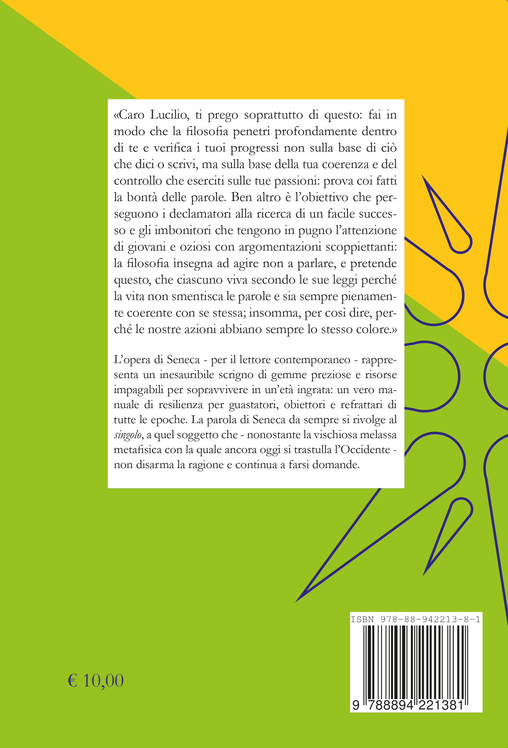 copertina Seneca lieviti 6 mm dorso
